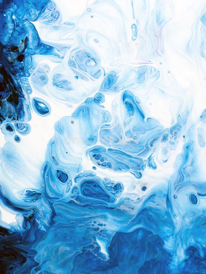 抽象派背景 在画布的油画 艺术品的片段 油漆斑点  现代的艺术 当代艺术 库存例证