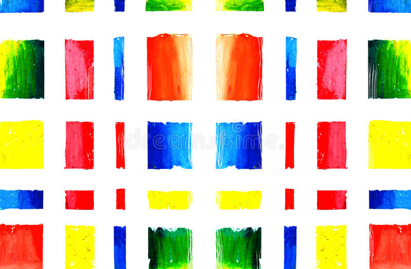 抽象派颜色油漆 皇族释放例证