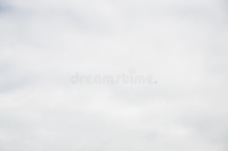 抽象浅灰色的背景光滑的云彩关闭 免版税库存图片