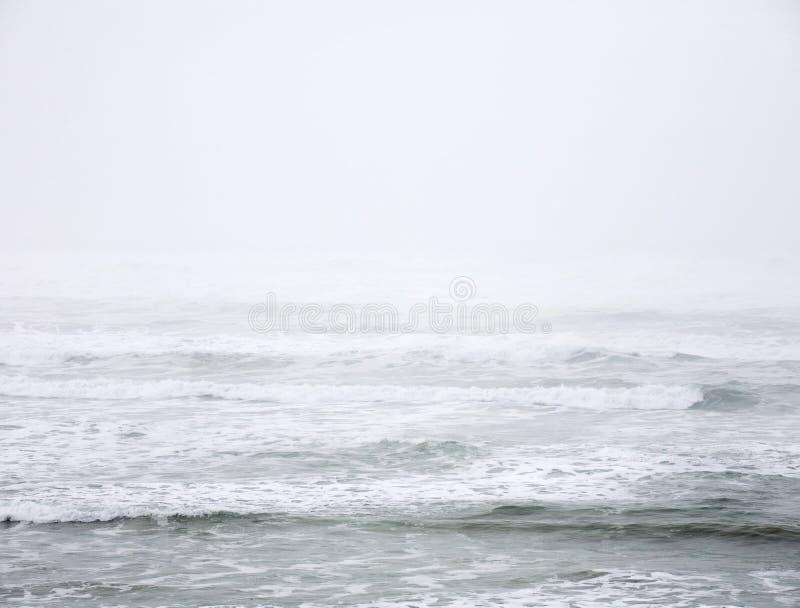 抽象海洋太平洋 免版税库存图片