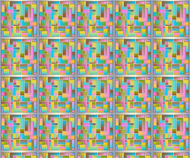 抽象淡色样式 图库摄影