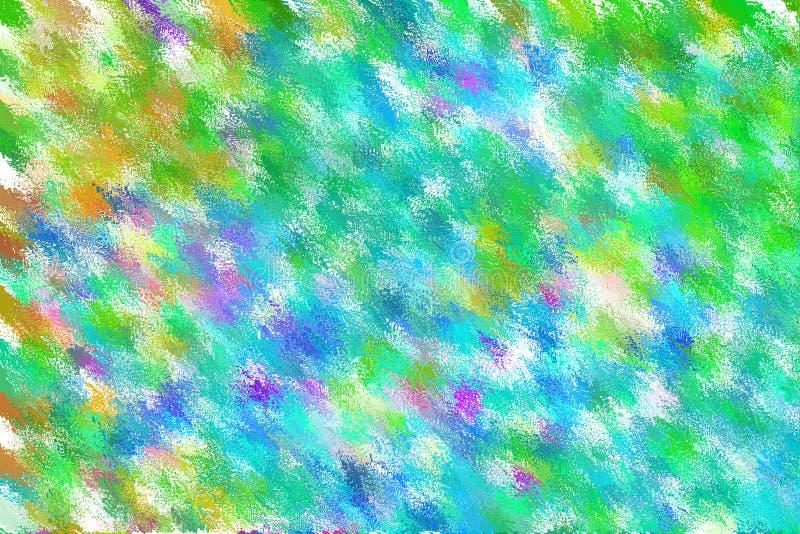 抽象淡色软五颜六色使被弄脏的织地不很细背景光滑 免版税库存图片