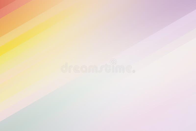 抽象淡色软五颜六色使被弄脏的织地不很细背景光滑 库存照片