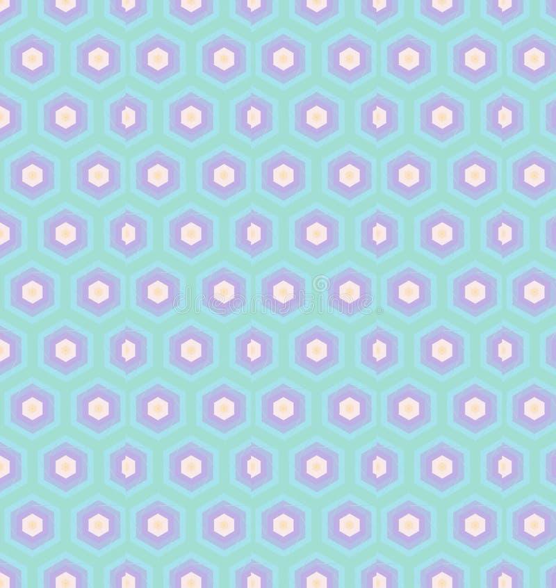 抽象淡色青绿的紫色颜色墙纸 免版税图库摄影