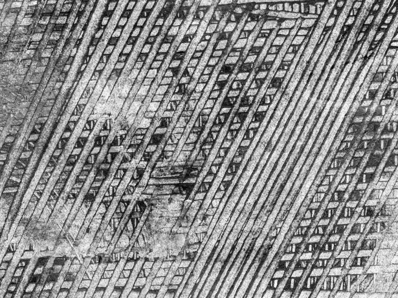 抽象混合画法背景或纹理 向量例证