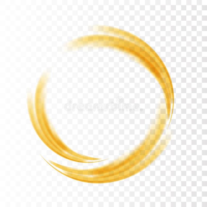 抽象漩涡能量圈子 库存例证
