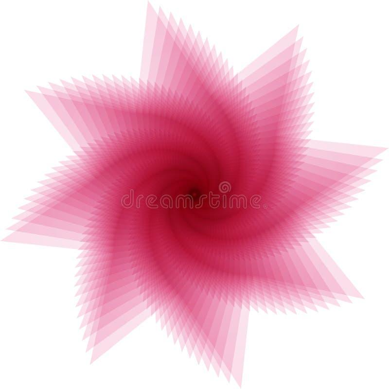 抽象漩涡 皇族释放例证