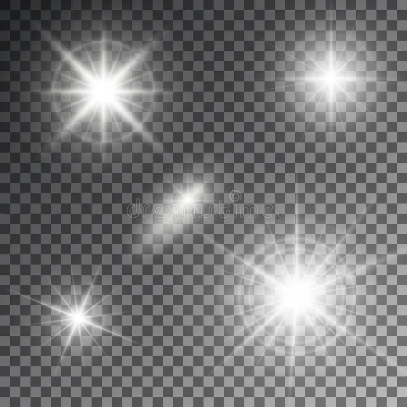 抽象火光光线的传染媒介例证 皇族释放例证