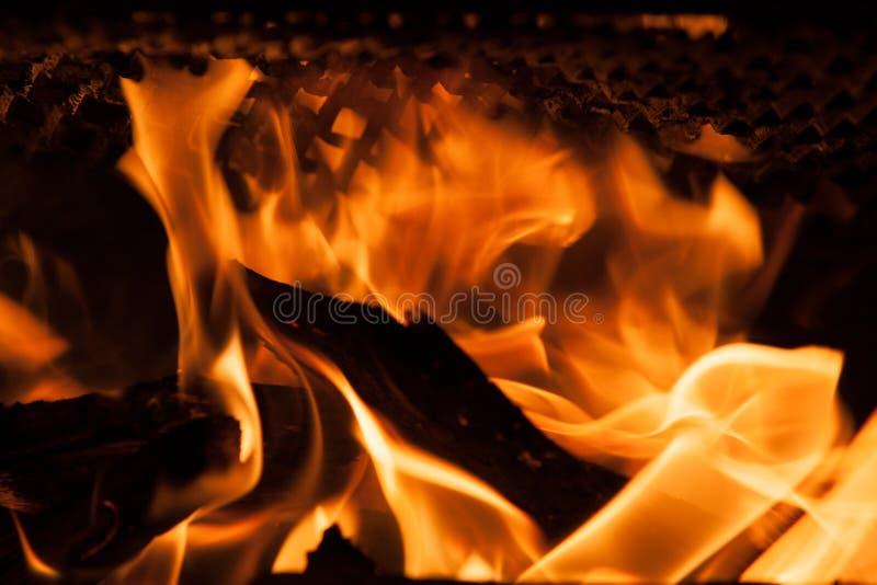 抽象火焰火火焰 库存图片
