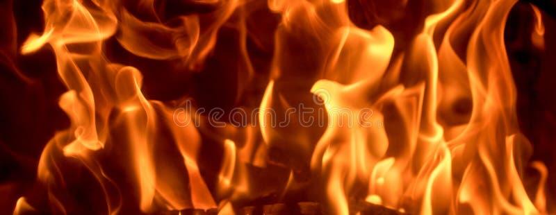 抽象火焰火,热,危险和地狱su的舌头 免版税库存图片