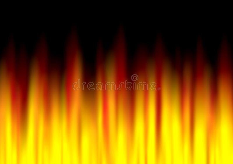 抽象火纹理 库存图片