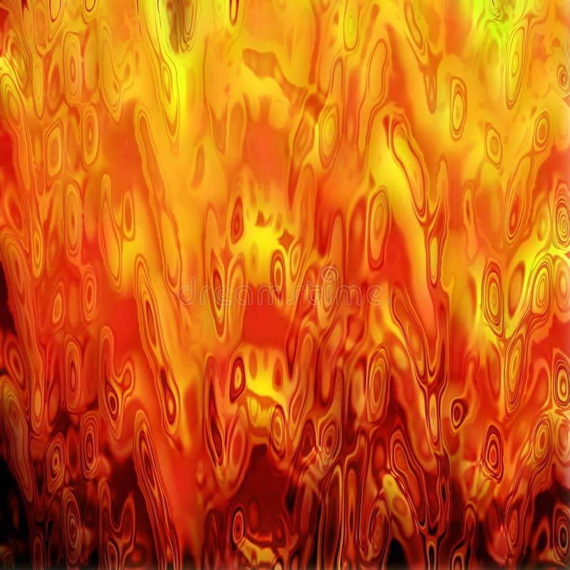 抽象火纹理 皇族释放例证