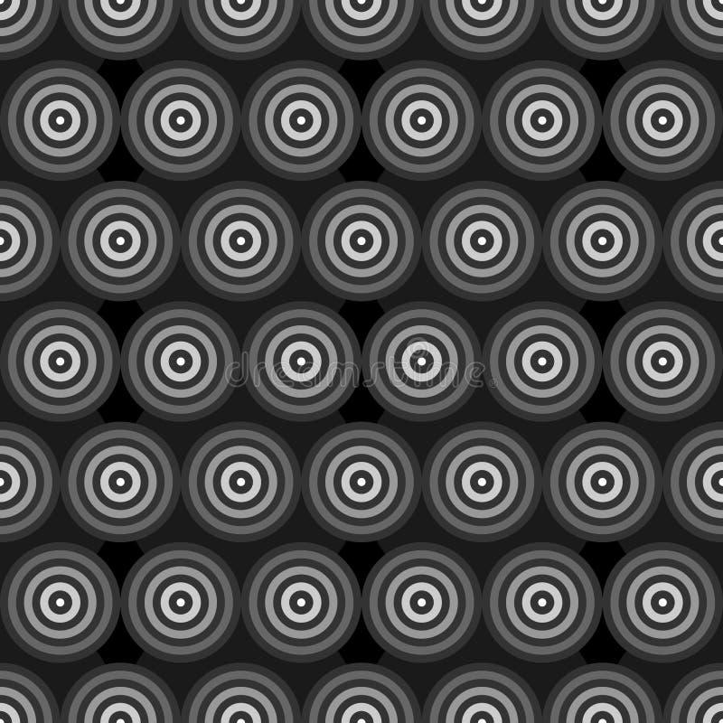 Download 抽象灰度的圆环 向量例证. 插画 包括有 几何, 模式, 形状, 圈子, 光亮, 例证, 正方形, 重叠 - 72366714
