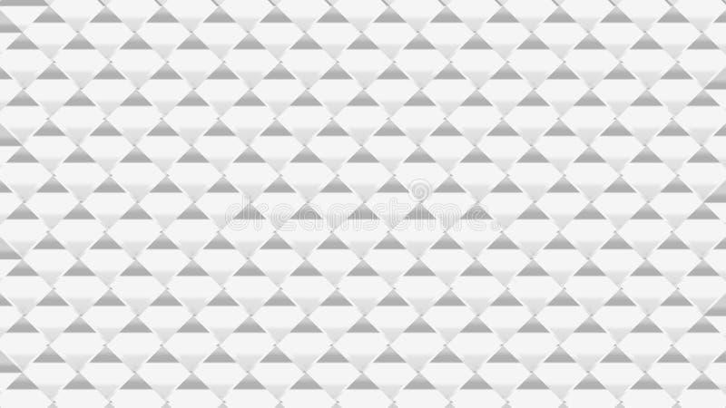 抽象灰色三角梯度白色几何背景  库存例证