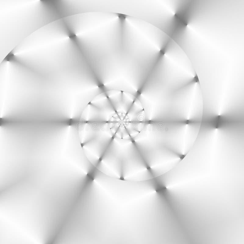 抽象灰色和白色几何背景 向量例证