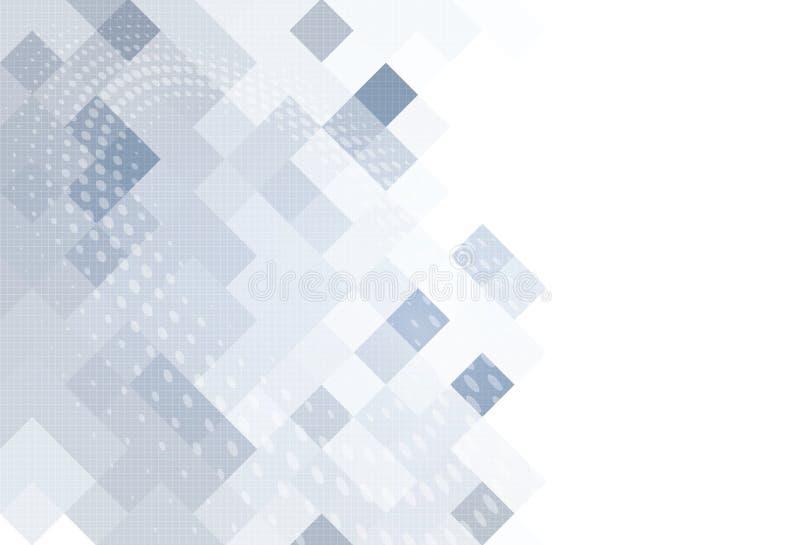 抽象灰色技术几何公司设计背景 EPS10 库存例证