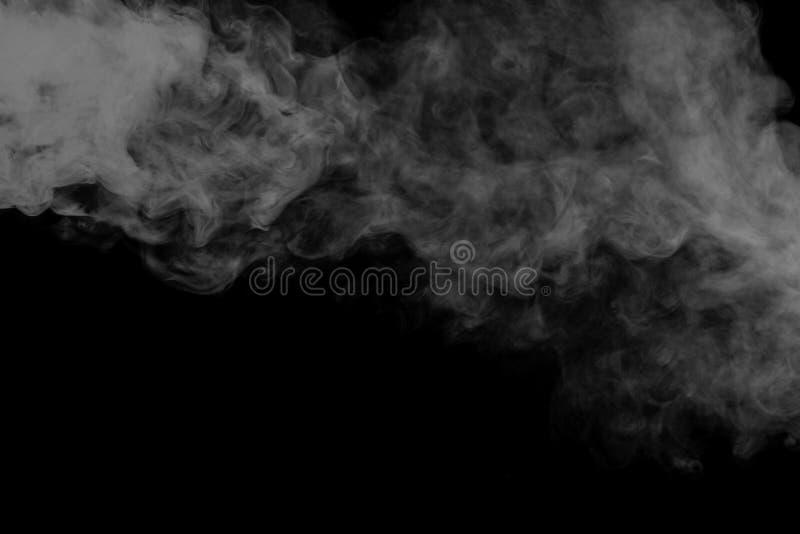 抽象灰色烟水烟筒 特写镜头 免版税库存图片