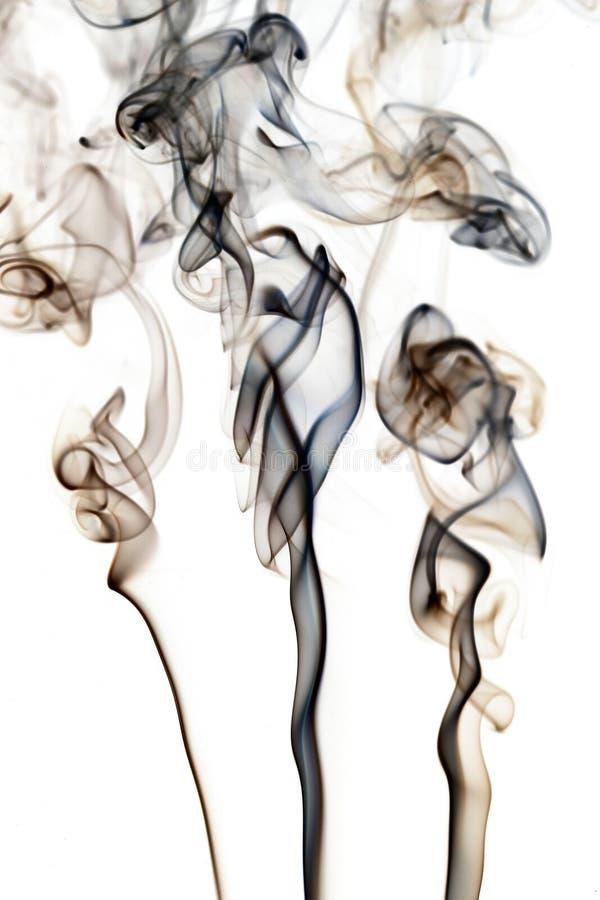 抽象烟流 库存图片