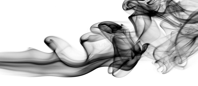抽象烟 免版税库存图片