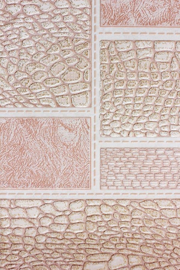 抽象照片 背景接近的纸射击 不同的纹理 库存图片