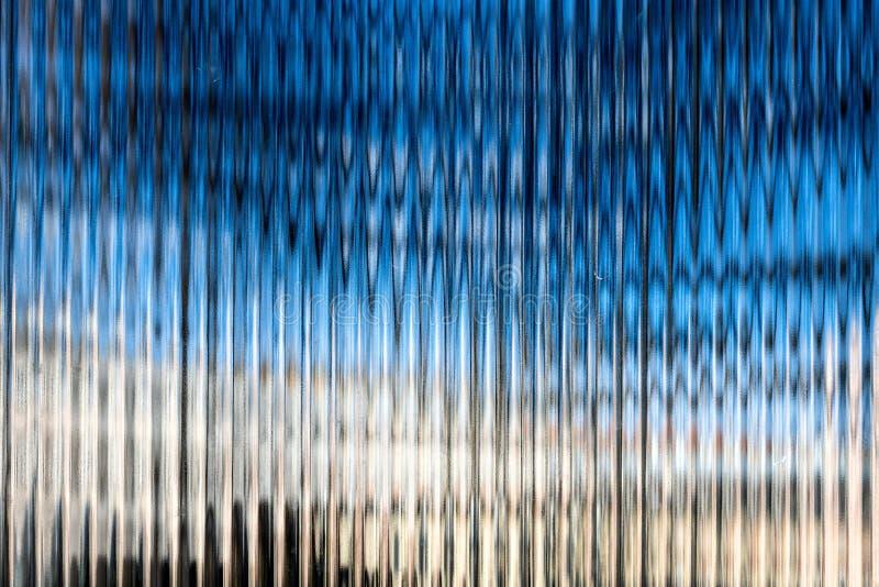 抽象现代办公楼细节,玻璃表面,背景影像 免版税库存图片