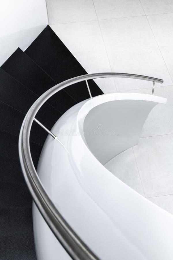 抽象现代台阶 库存照片