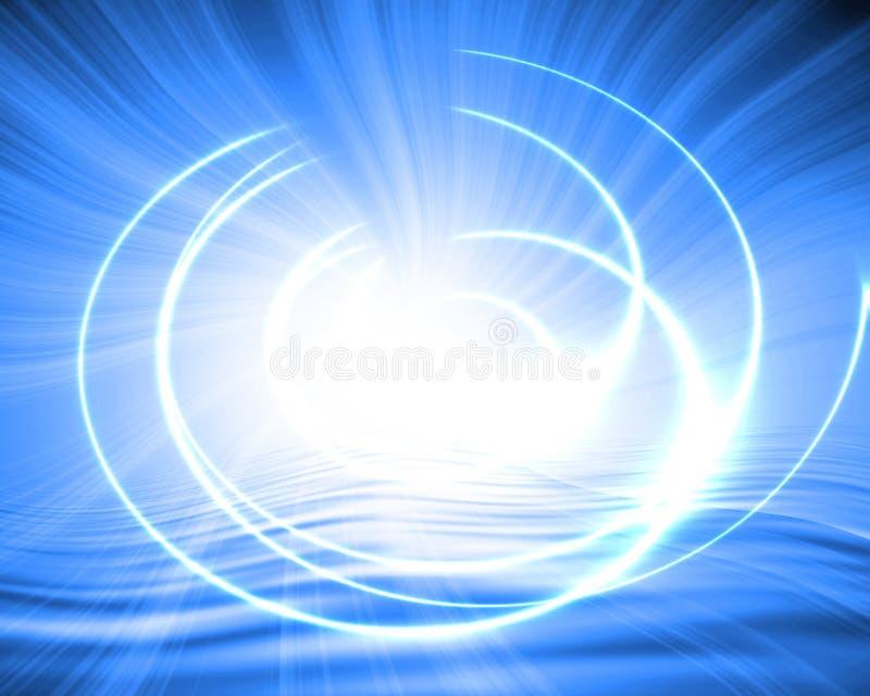 抽象现代漩涡 向量例证