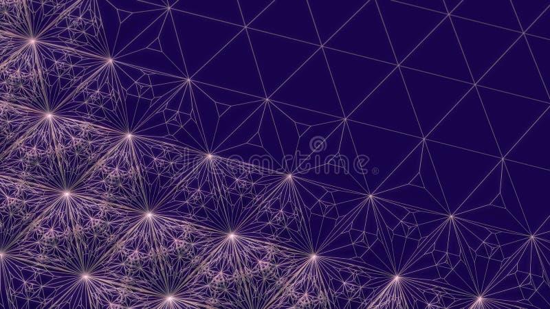 抽象现代导线背景3d翻译 向量例证
