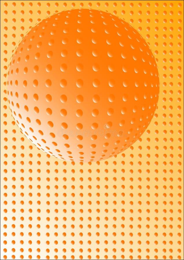 抽象球 库存例证