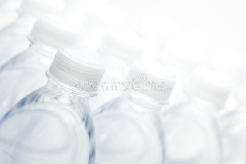 抽象瓶装水 免版税图库摄影