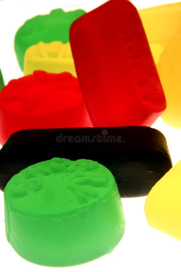 抽象甜点 免版税库存图片
