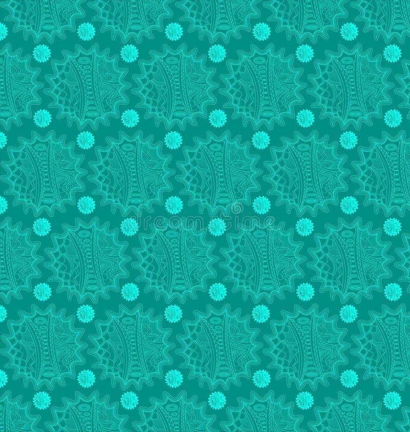 抽象病毒无缝的样式背景 免版税库存图片