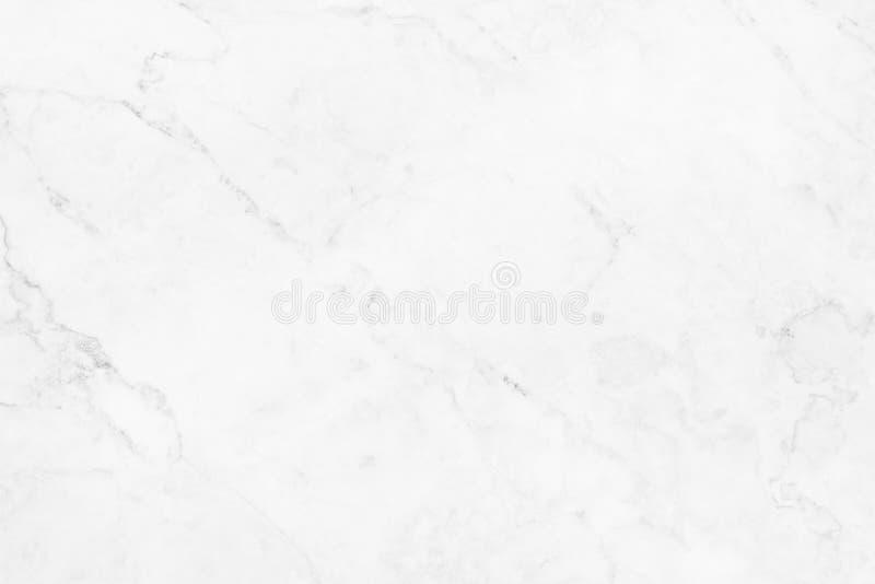 抽象白色大理石石纹理背景 库存照片