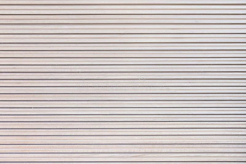 抽象白色木纹理背景 免版税库存图片