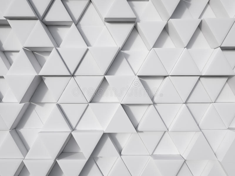 抽象白色现代技术背景3d翻译 免版税库存照片