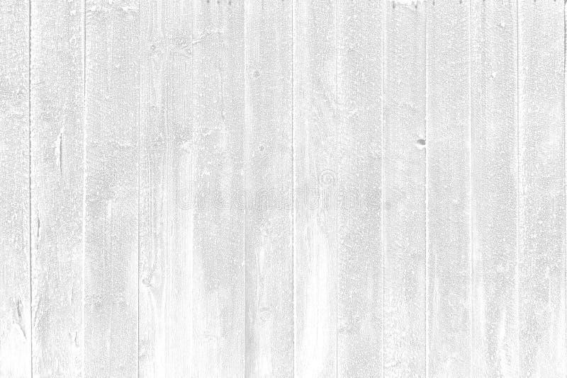 抽象白色背景结冰的木墙壁 库存照片