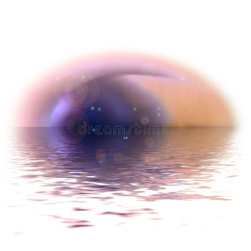 抽象眼睛 皇族释放例证