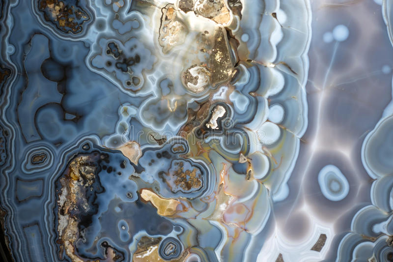 抽象石华-矿物纹理 库存图片