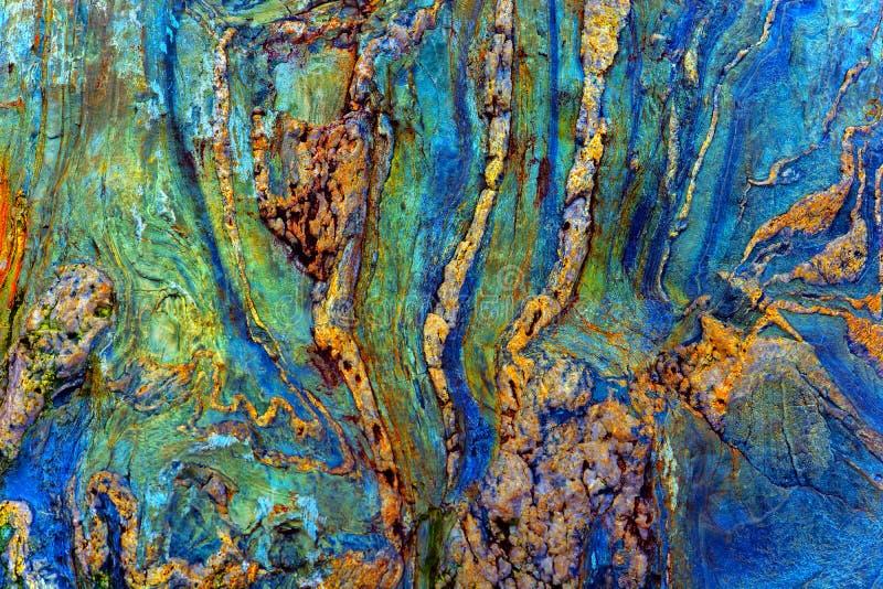 抽象石纹理 库存图片