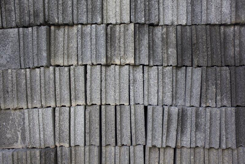 抽象砖正方形堆 免版税图库摄影