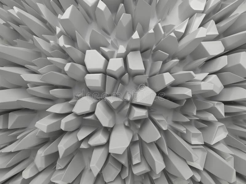 抽象空白雕琢平面的结构背景 向量例证