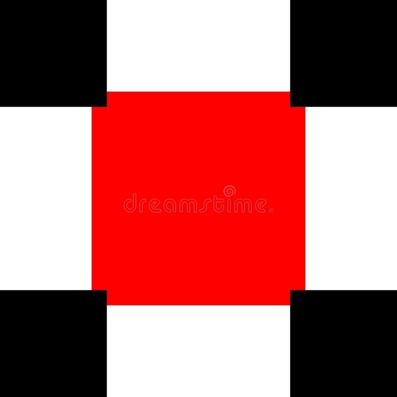抽象立方体样式背景,向量图形例证 库存例证
