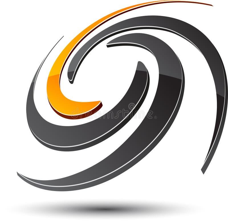抽象符号 库存例证