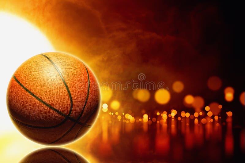 抽象篮球 免版税图库摄影