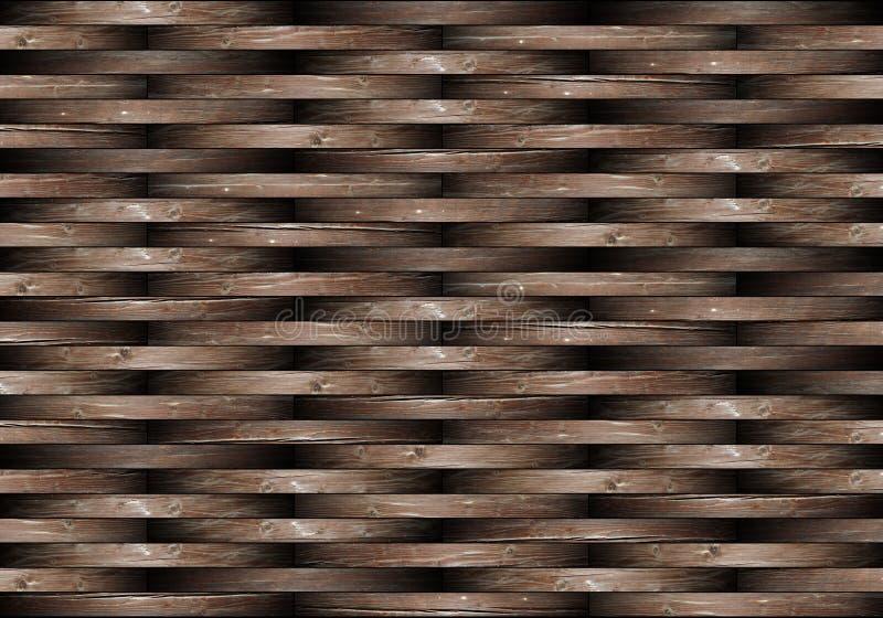 抽象篱笆条纹理 图库摄影