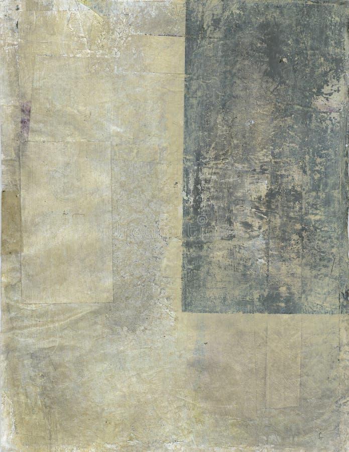 抽象米黄灰色 向量例证