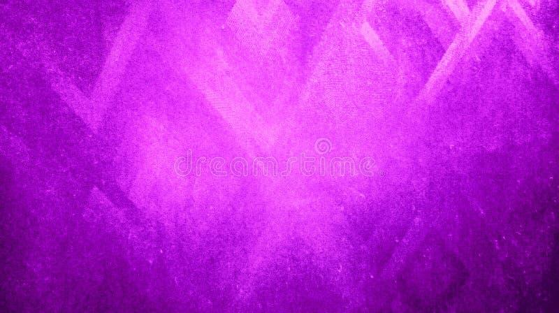 抽象粉色晾干锋利在蓝纸背景墙纸反射的三角纹理 库存例证
