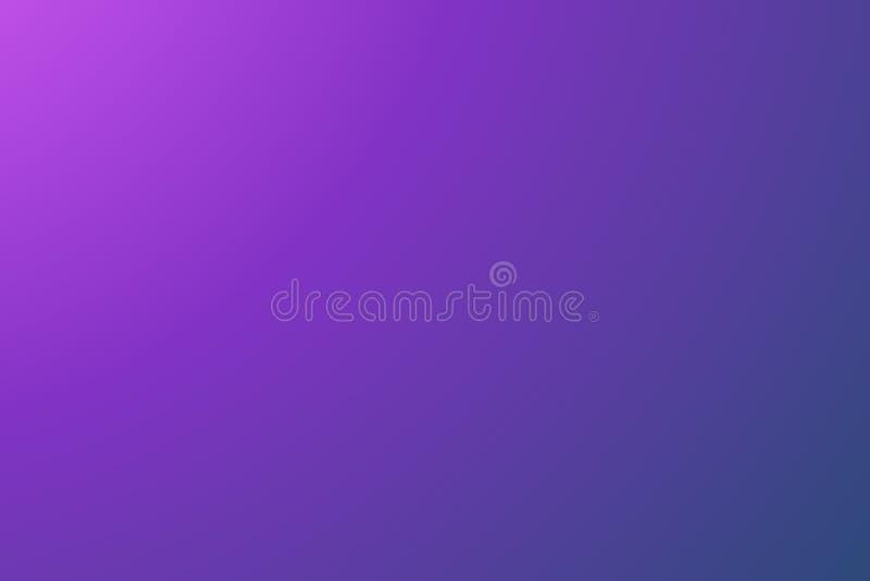 抽象紫色和蓝色被弄脏的传染媒介背景,光滑的梯度纹理颜色,发光的明亮的网站样式,横幅倒栽跳水或 向量例证