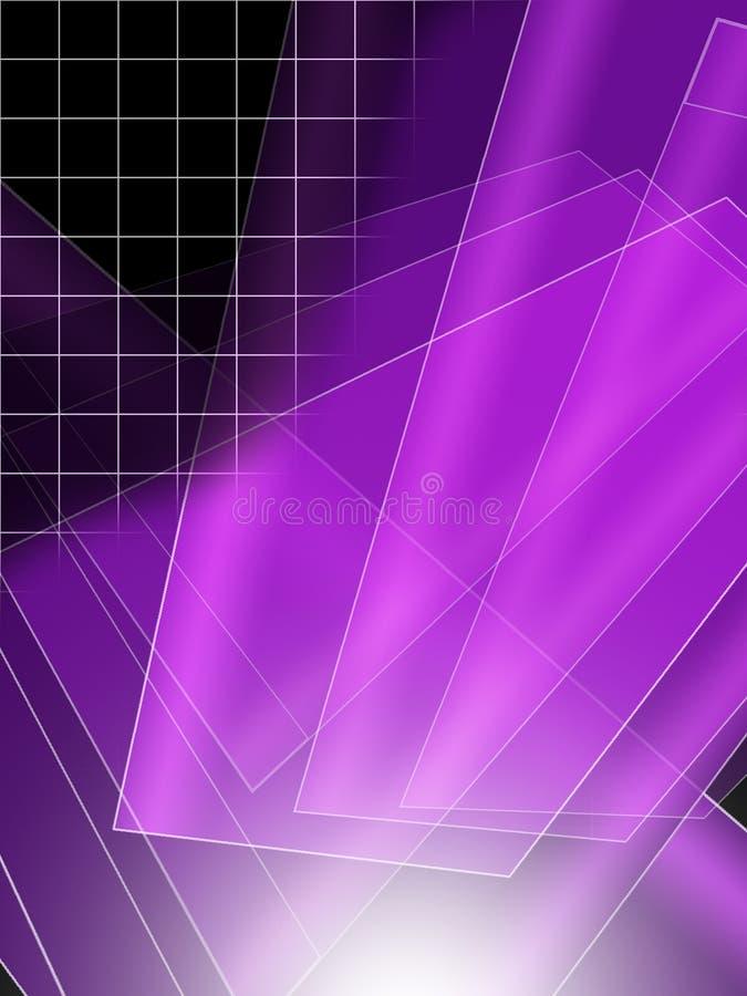 抽象紫色背景 皇族释放例证