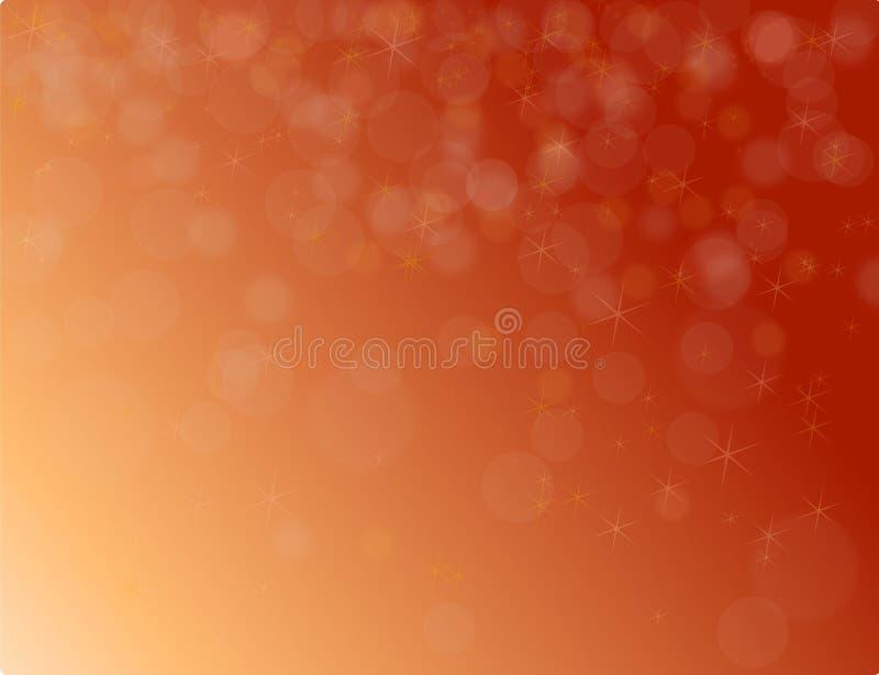 抽象红色圣诞节背景 免版税库存图片
